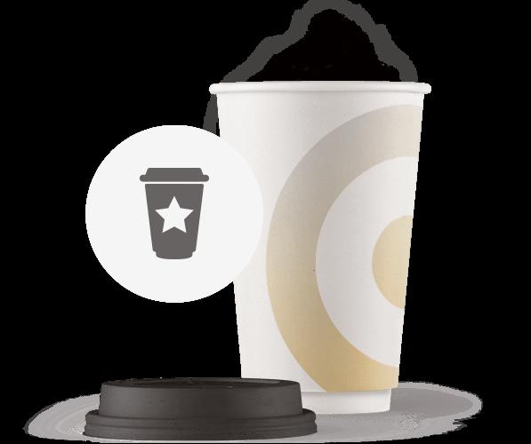 Dobbeltlags-papkrus-med-logo-tryk-grafisk-illustration