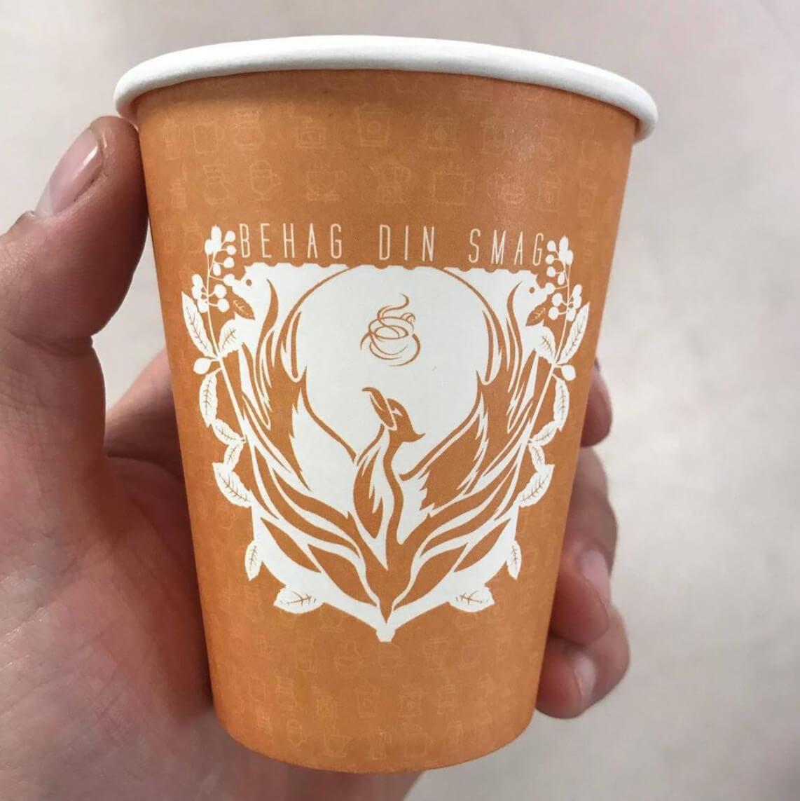 behag din smag papkrus med logo