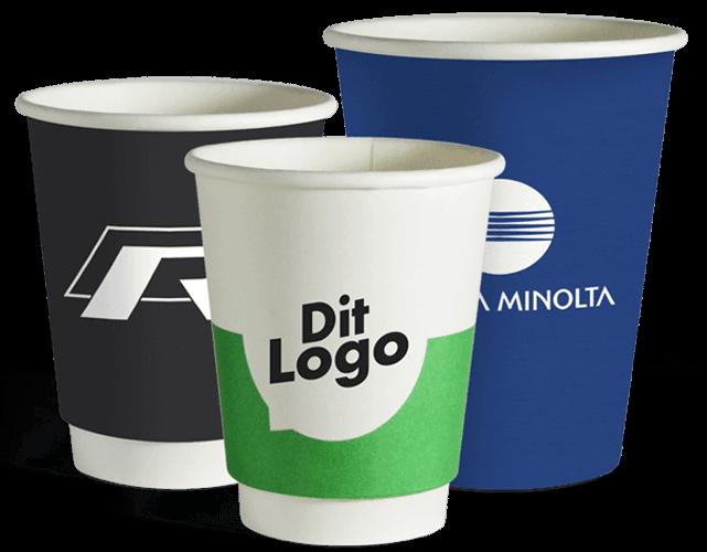 papkrus med logo tryk