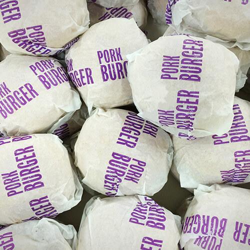 sandwichpapir med tryk til bruger